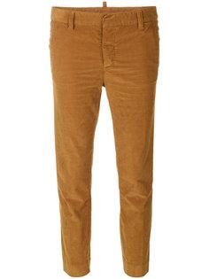 укороченные вельветовые брюки Dsquared2