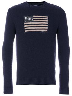 свитер с круглым вырезом U.S.A Woolrich