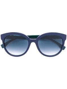 круглые солнцезащитные очки Fendi Eyewear