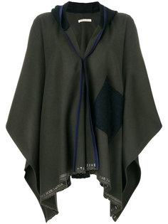 пиджак-кейп с капюшоном  Ermanno Gallamini