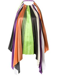 расклешенная блузка в полоску Ssheena