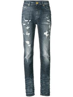 джинсы скинни с эффектом потертости Pierre Balmain