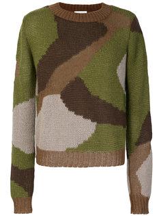 камуфляжный свитера Faith Connexion