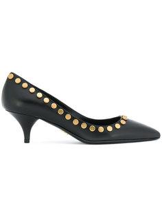 туфли-лодочки с заклепками Prada