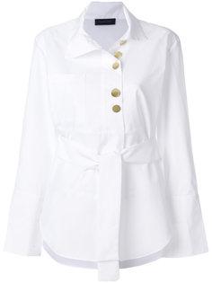 рубашка с завязкой  Eudon Choi