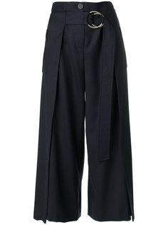 широкие брюки с поясом  Eudon Choi
