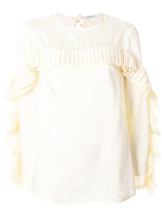 блузка с плиссировкой  P.A.R.O.S.H.
