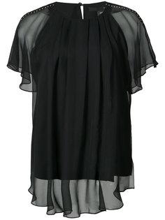 прозрачная блузка Artemisia  Thomas Wylde