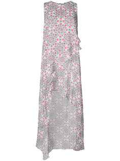 асимметричное платье-топ Thomas Wylde