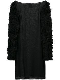 мини-платье с рюшами на рукавах Thomas Wylde