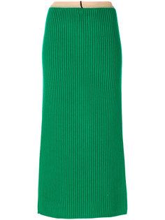 юбка миди в рубчик  Calvin Klein 205W39nyc