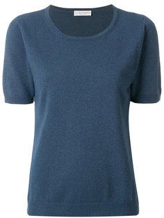 "футболка с вырезом ""ковш"" Le Tricot Perugia"