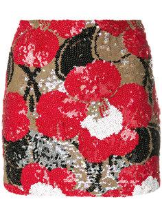 мини-юбка с пайетками  P.A.R.O.S.H.
