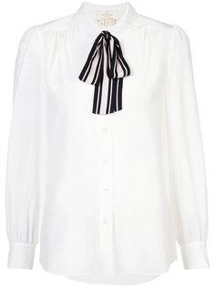 рубашка с завязками Kate Spade
