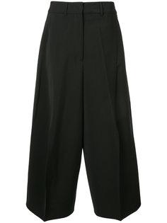 укороченные брюки-палаццо Jil Sander