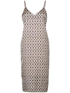 платье-комбинация с принтом  Cityshop