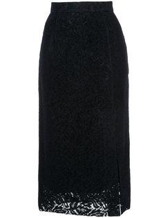 кружевная юбка миди  Cityshop