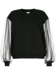блузка с прозрачными рукавами Cityshop