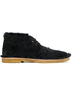 фактурные ботинки-дезерты Prada