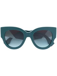 """массивные солнцезащитные очки в оправе """"кошачий глаз"""" Fendi Eyewear"""