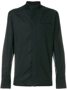 рубашка с воротником-стойкой Emporio Armani