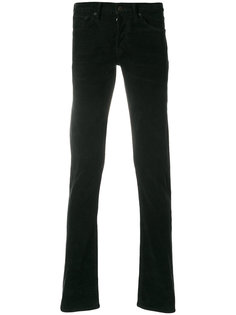 вельветовые брюки кроя слим Tom Ford