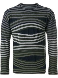 свитер в полоску Emporio Armani
