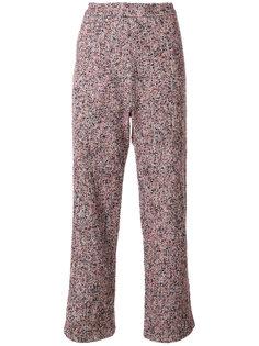 baggy fit tweed trousers Humanoid