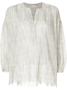 легкая блузка с необработанным краем Masscob