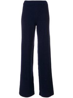 широкие вязаные брюки Nanushka