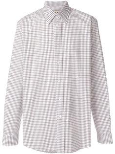 рубашка с сетчатым принтом Marni