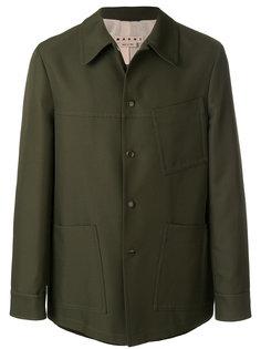 куртка с косым воротником Marni