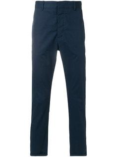 брюки прямого кроя Marni