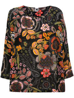 блузка с цветочным принтом M Missoni
