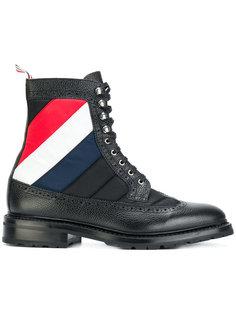 ботинки с контрастными полосками Thom Browne
