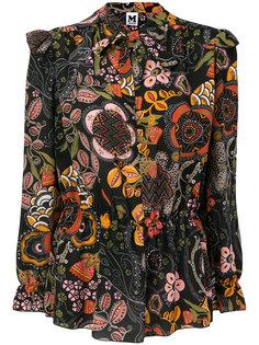 рубашка с цветочным принтом  M Missoni