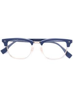 очки с прямоугольной оправой Fendi Eyewear