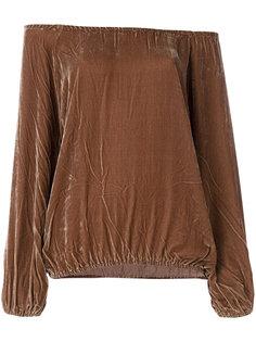 блузка с открытыми плечами  Mes Demoiselles