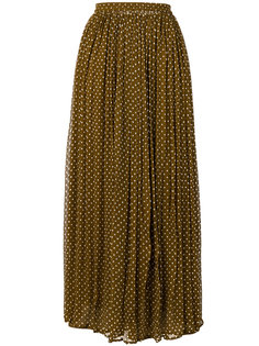 плиссированная юбка в горошек  Mes Demoiselles