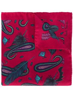 нагрудный платок  с принтом Paisley Feather Paul Smith