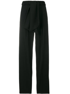 брюки с поясом  Lanvin