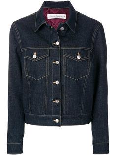 джинсовая куртка с декоративной строчкой  Golden Goose Deluxe Brand