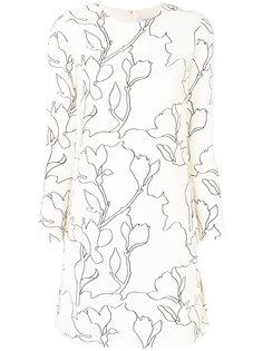 платье шифт с принтом  Carven