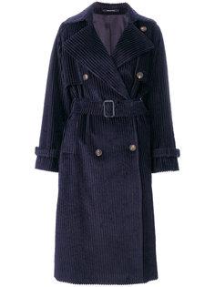 двубортное пальто-тренч  Tagliatore