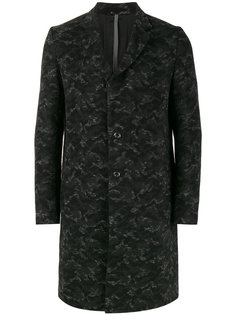 пальто с камуфляжным принтом Kazuyuki Kumagai