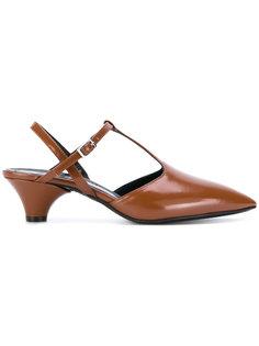 туфли-лодочки с Т-образным ремешком Marni
