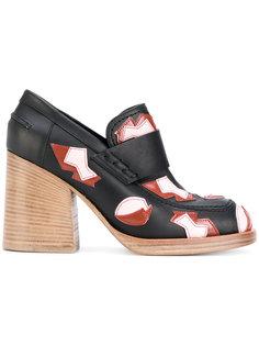 туфли в стиле лоферов Marni