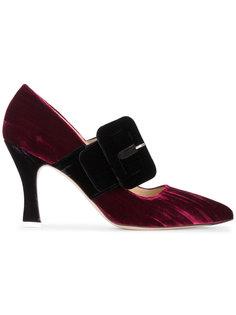 туфли Elsa с пряжками Attico