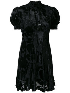 платье деворе McQ Alexander McQueen