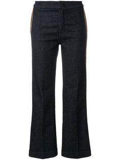 укороченные брюки с полосками  The Seafarer